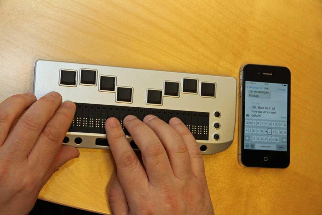 Trådløs leselist og iPhone