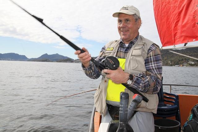 Det er flotte muligheter for havfiske ved Solvik.