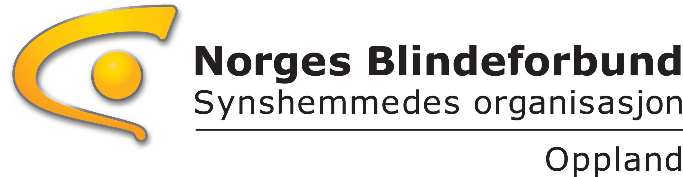 Norges Blindeforbund Opplands logo