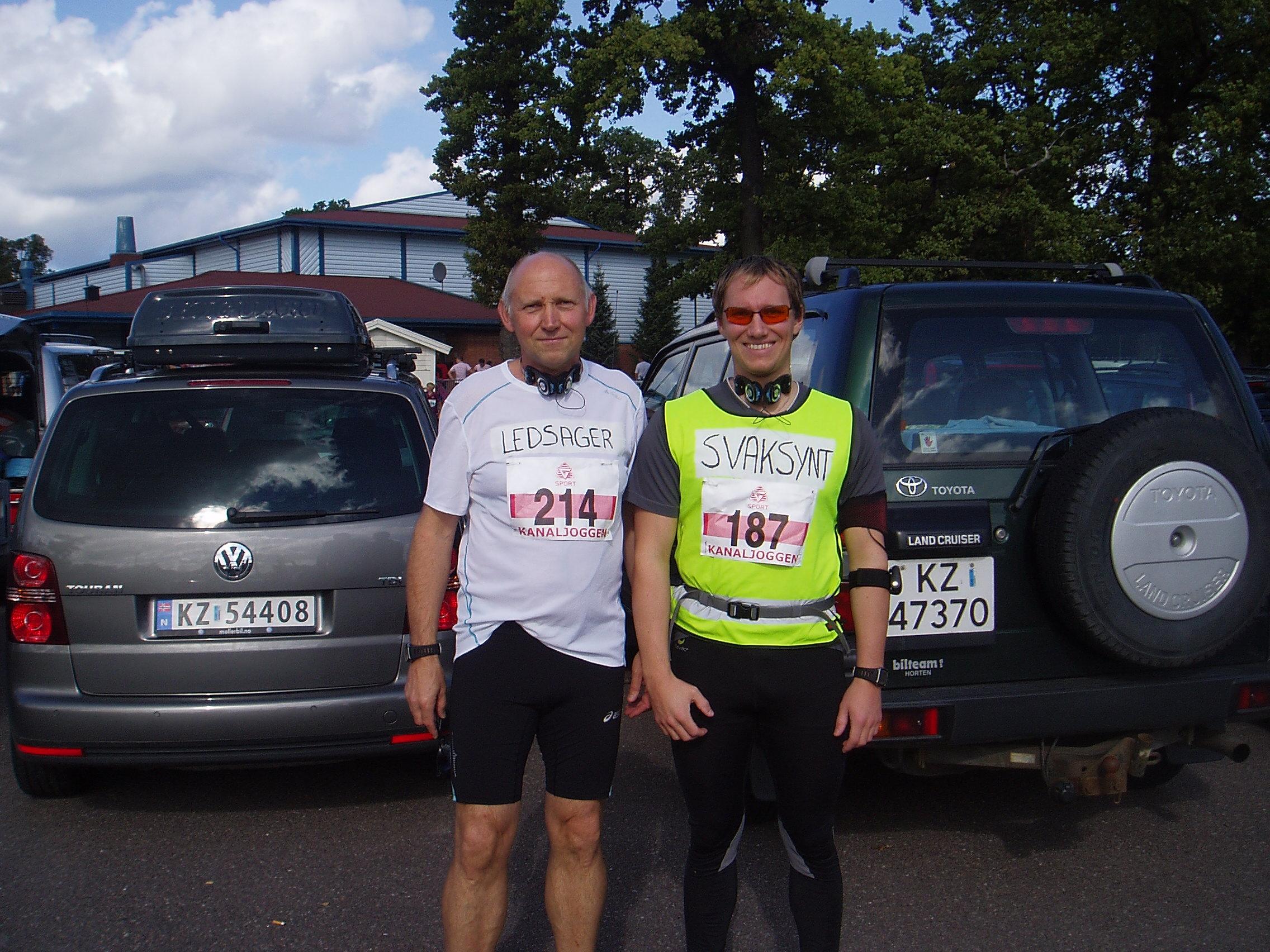 Glenn og John Arne i Kanaljoggen