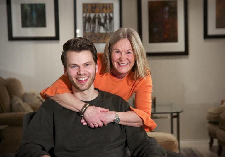 Heidi og Ola Midthus